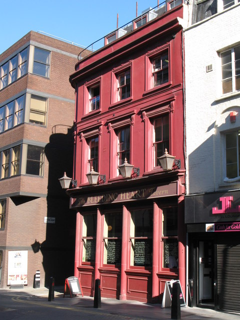 The Bleeding Heart, Greville Street, EC1 (2)
