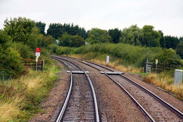 Crossing near Littleworth