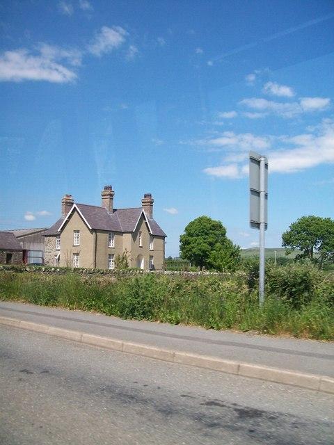 Bwlch y Ffordd Isaf farmhouse, Y Ffor