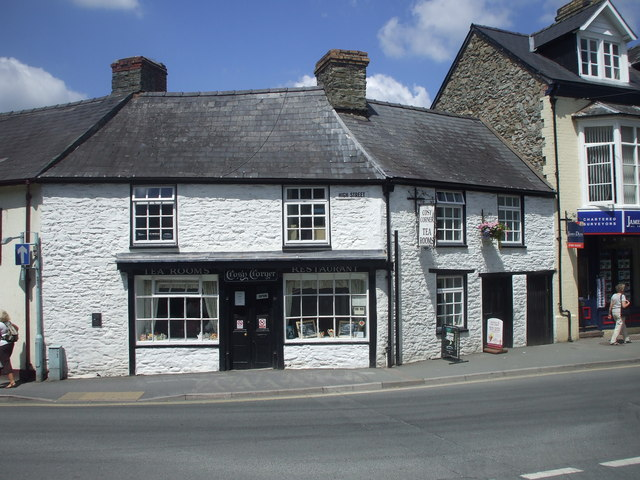 The Cosy Corner Tea Rooms, Builth Wells