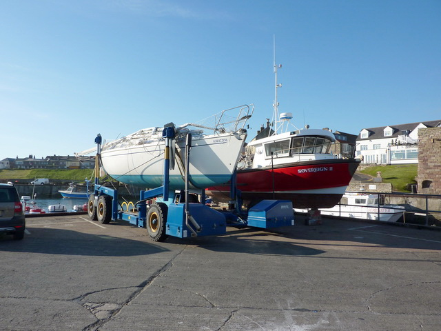 On dry land, Seahouses Harbour (2)