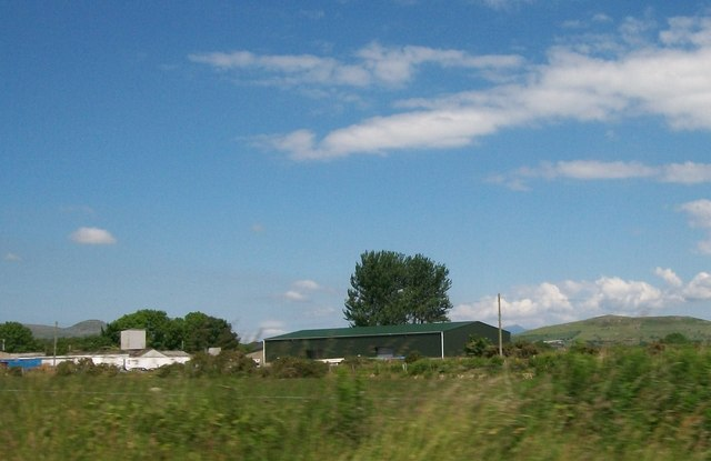 The Welsh Lady Preserves factory north of Y Ffor