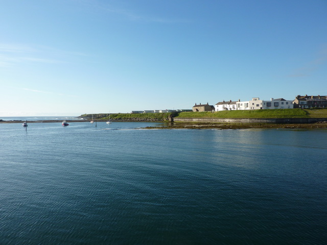 Looking towards The Brigses and Seahouses Point, Seahouses Harbour