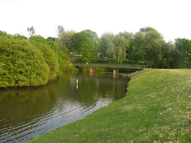 Castle Moat Footbridge