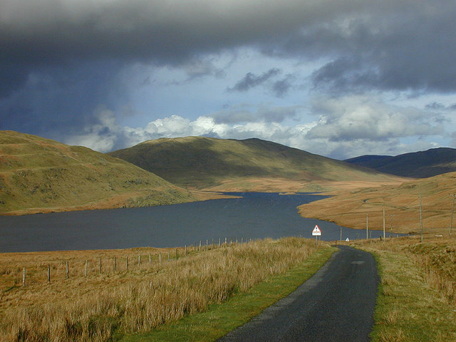 Storm clouds over Nant y Moch