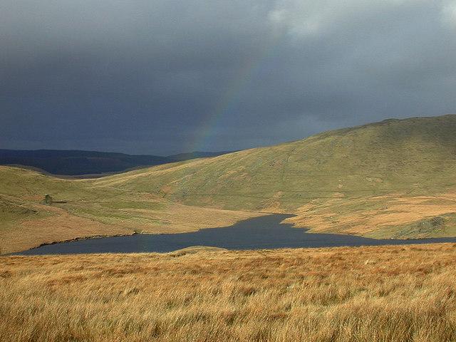 Rainbow over Nant y Moch