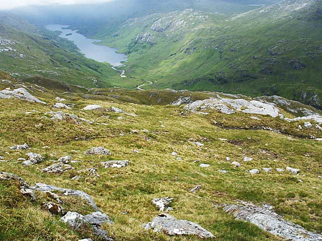 Northern slopes of Sgurr an Utha