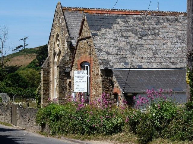 Croyde Baptist Church on Georgeham Road