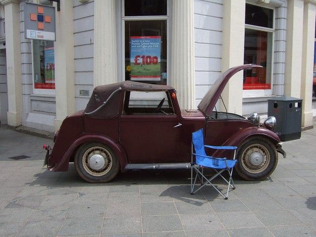Electric car, Newton Abbot