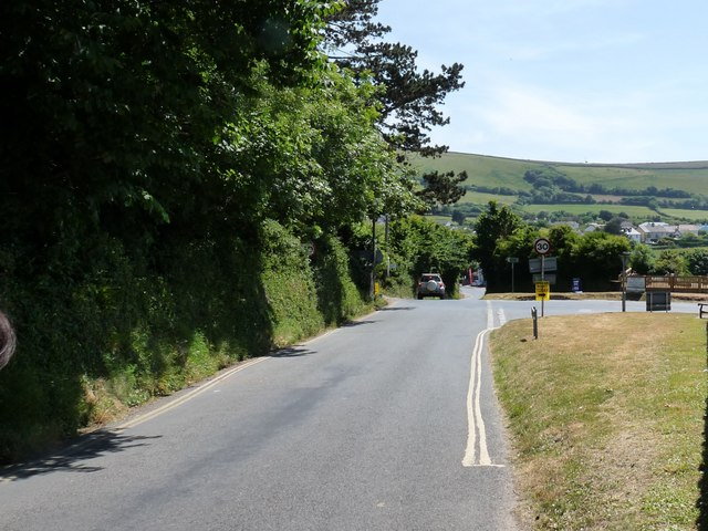 Approaching Croyde on Stentaway Hill