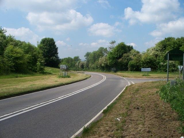 Butlers Hill crossroads