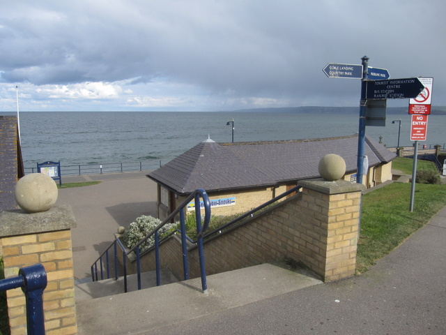 A sea view from The Beach Road, Filey