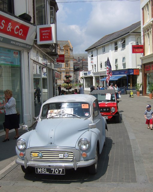 Classic car day, Newton Abbot