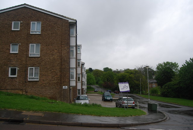 Flats, Marston Way Estate, Biggin Hill