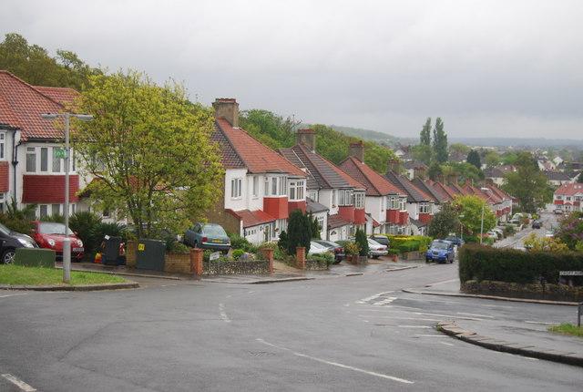 Semi-detached houses, Bigginwood Rd
