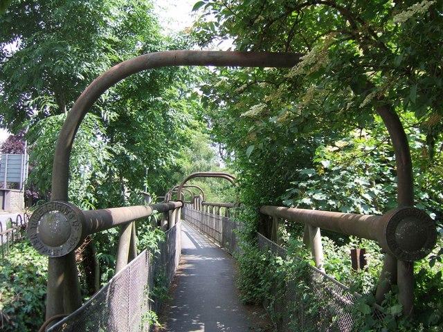 Footbridge, Newton Abbot