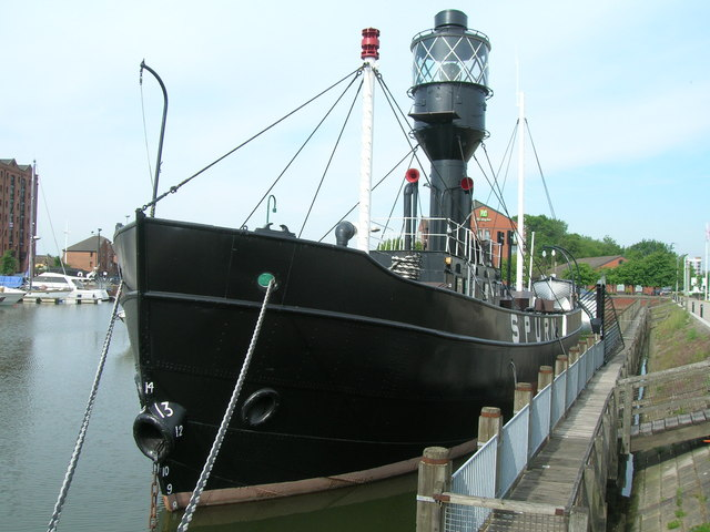 The Spurn Lightship, Hull