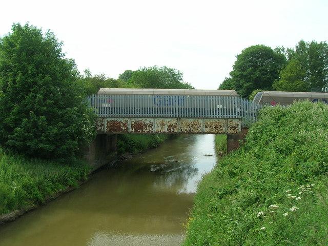 Railway bridge over Holderness Drain, Hull