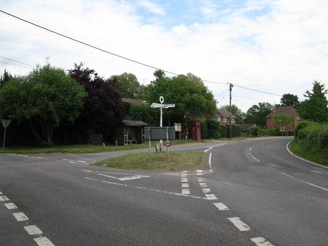 Winchfield Hurst cross roads