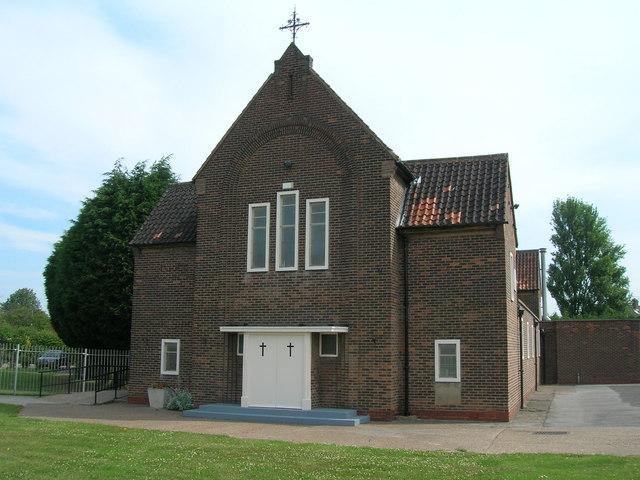 St Bede's Roman Catholic Church, Bilton Grange, Hull