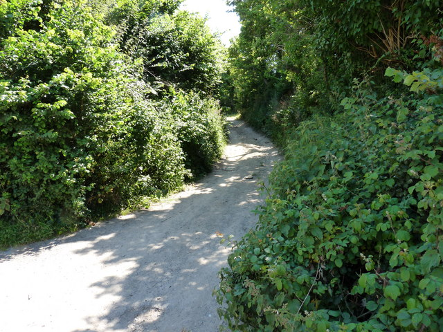 Mill Lane which leads to Milkaway Lane