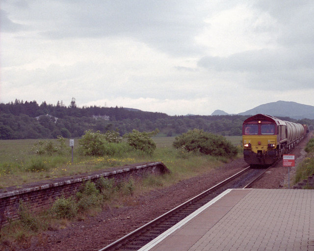 Freight at Newtonmore