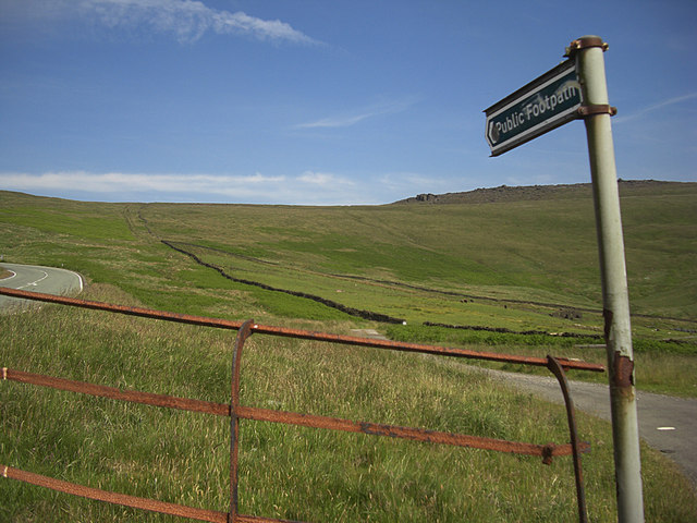 Sign to the Roman Road