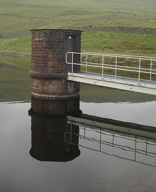 Valve Tower, Hanging Lees Reservoir