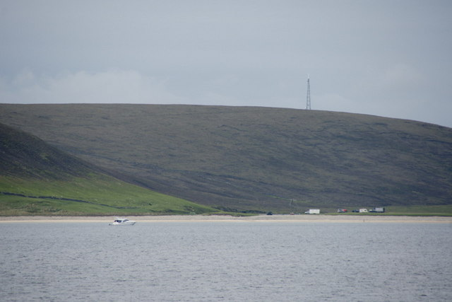Tresta beach from Wick of Tresta