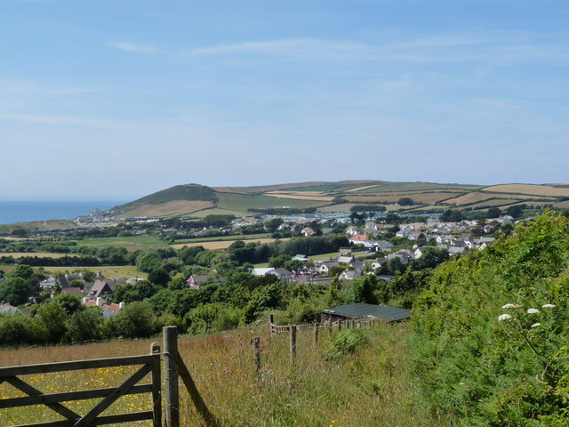 A view of Croyde from Milkaway Lane
