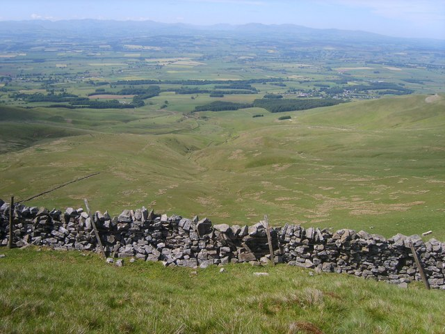 Wall, Melmerby High Scar