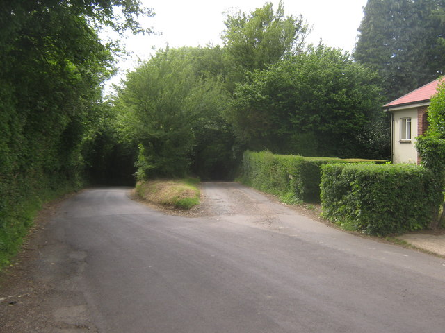 Junction of Dean Hill and Clapper Hill