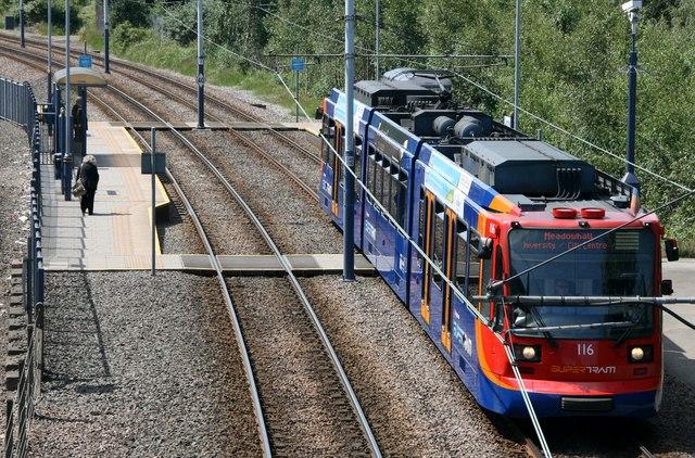 Tram Stop, Sheffield