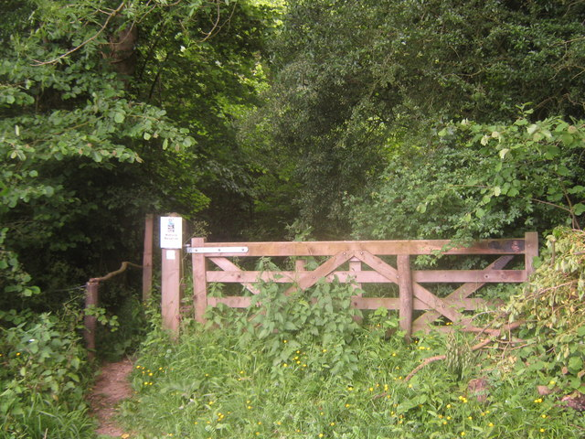 Entrance to Yockletts Bank Nature Reserve
