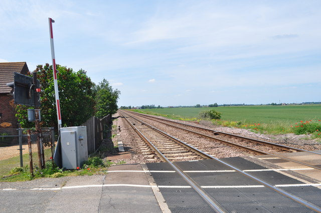 Level Crossing at Turves