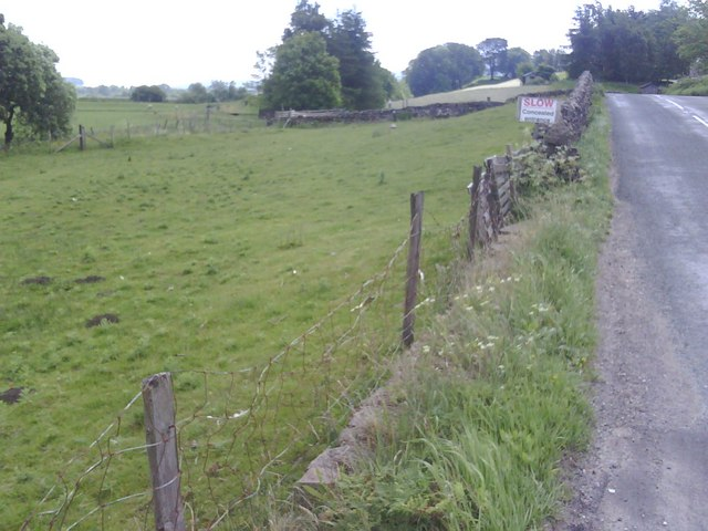 Roadside wall/fence west of Hawes