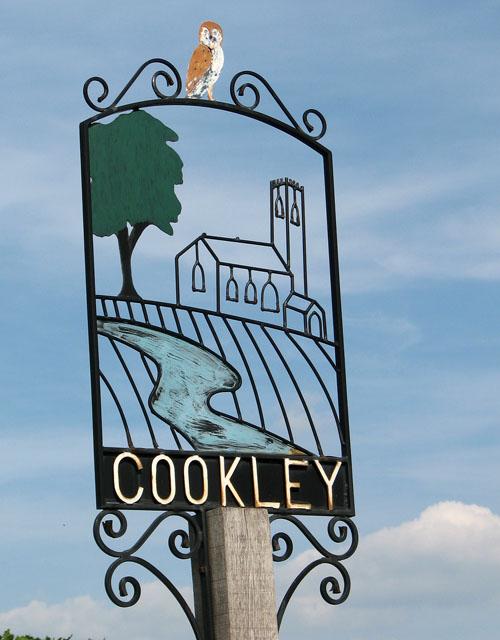 Cookley village sign