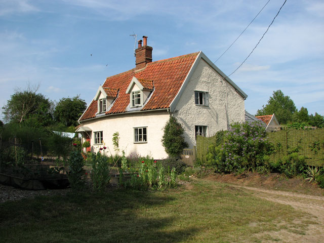 Cottage by St Michael's church, Cookley