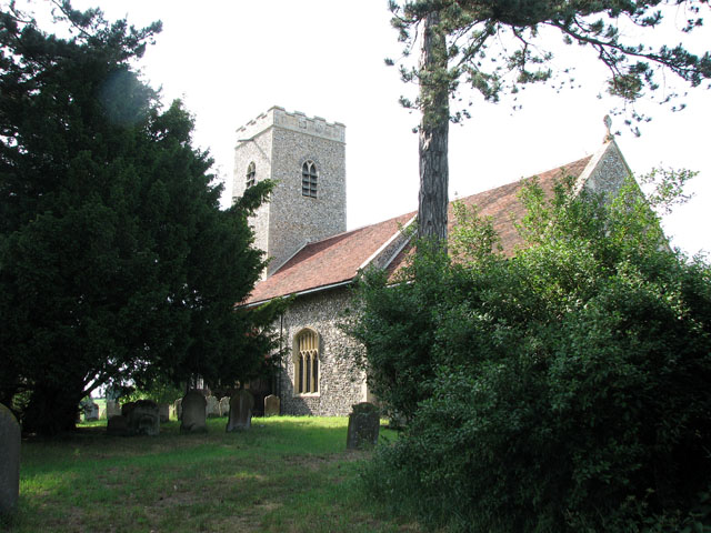 St Michael's church in Cookley