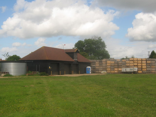 Barn in Waddenhall Farm