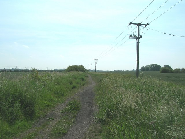 Cycle route near Hedon