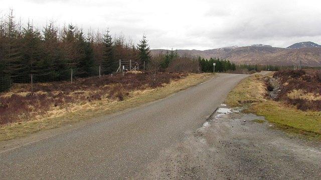 A 838 near Overscaig
