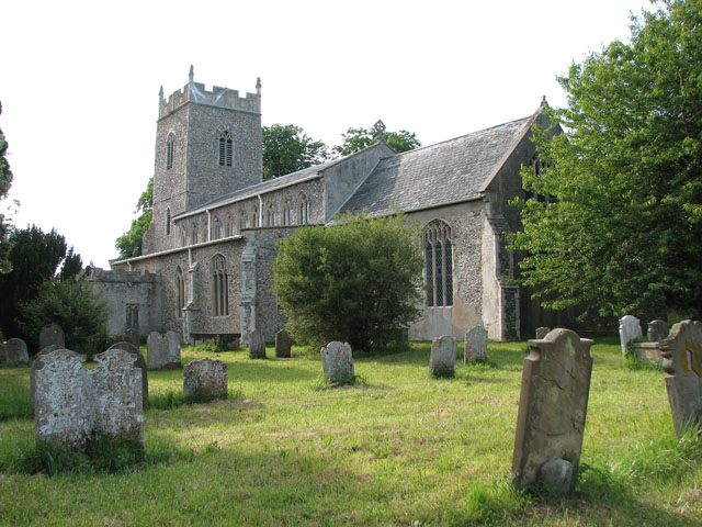 St Mary's church in Cratfield
