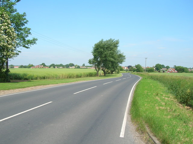 Hariff Lane towards Burstwick