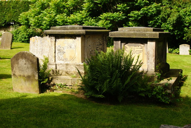Graves at St.Peter & St.Paul, Lingfield, Surrey