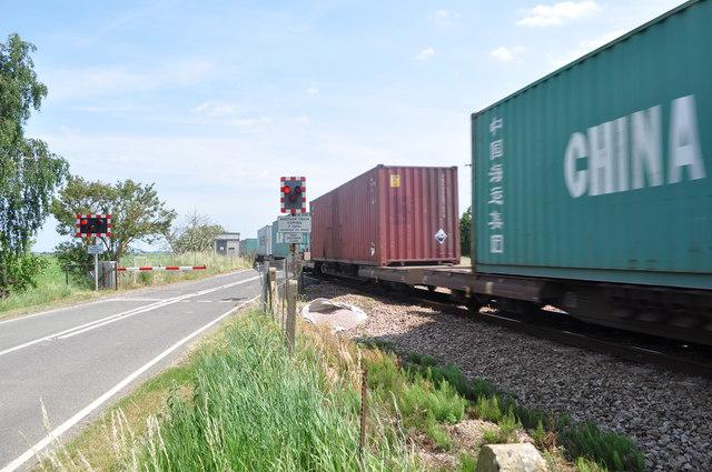 Freight Train through Turves