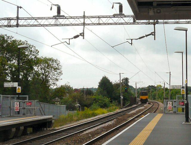 Airport Train at Gatley