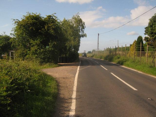Stone Street heading towards Canterbury