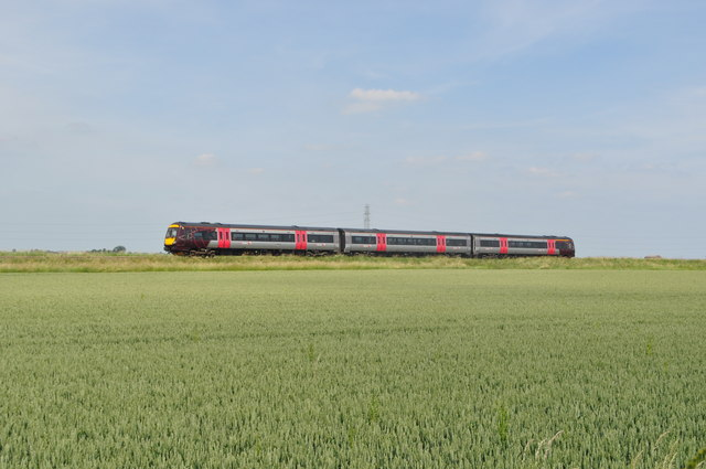 Class 170 unit on a Cross Country Service