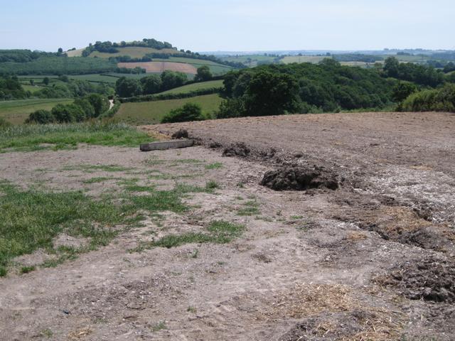 Cultivations near Well Farm